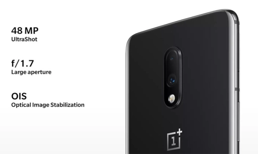 Original Oneplus 7 Global 8GB 256GB Mobile Phone Snapdragon 855 6.41 Inch AMOLED Display Fingerprint 48MP Cameras NFC Drop