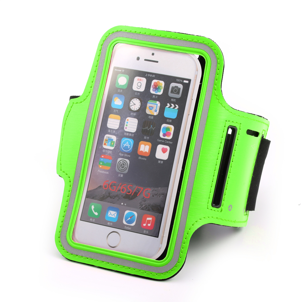sports gym armband jogging phone holder case for iphone 4.7inch