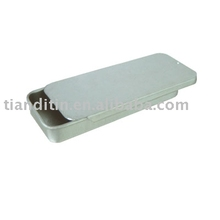new style food containers Slide Metal Box