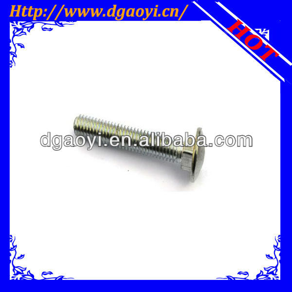 DIN603 mushroom head square neck bolts and carriage bolts