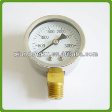 Stainless Steel Pressure Gauge Bourdon Tube