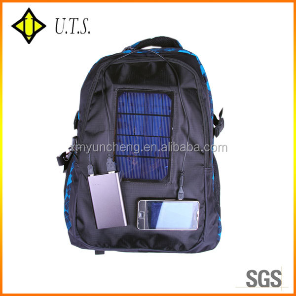 Colors cheaper Solar Charger Messenger Bag
