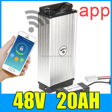 48v 1000w electric bike 20ah li ion battery 48 volt 18650 batteries with app BMS for mid drive bafang 8fun motor e-bike