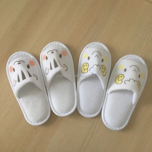 Custom Star-rated Hotel Deluxe Disposable Slippers Hotel Suite Children's Slippers