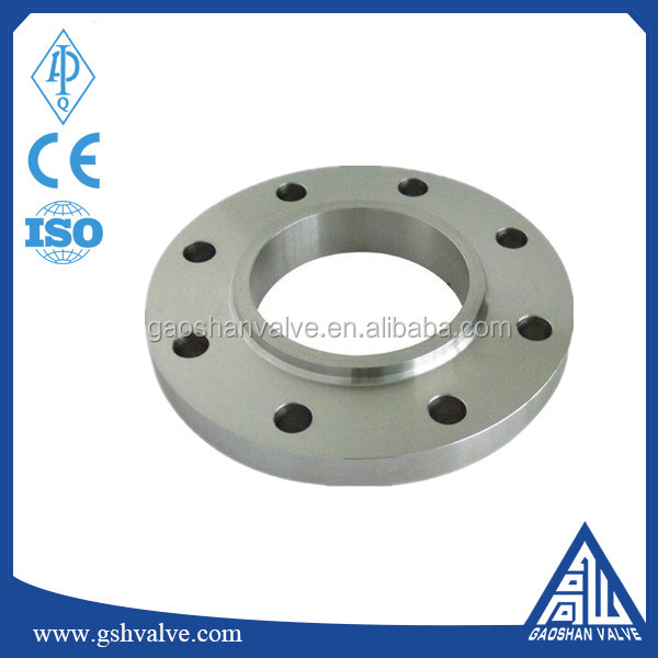 ANSI Class 150 forged steel slip on flange made in China