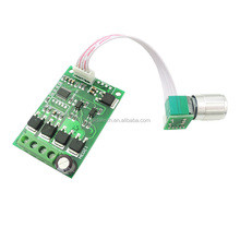 Positive and negative speed switch intelligent motor controller 24v pwm dc motor controller