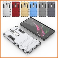 Armor Heavy Duty Hard Bumper Soft Rubber Case Cover Stand for LG Class