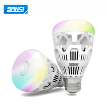 10w house decorating WIFI smart led light bulb color