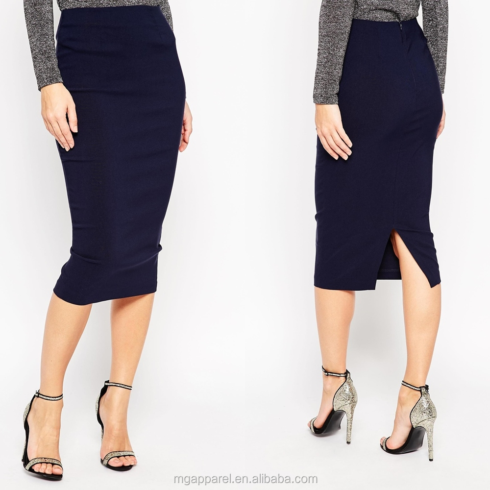 fashion design skirts and blouse longerline pencil skirts