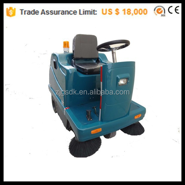SDK1400 CE rotary sweeper,mobile sweeper,warehouse vacuum sweeper