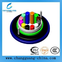 Light weight flame-retardant 8 core mining fiber optical cable