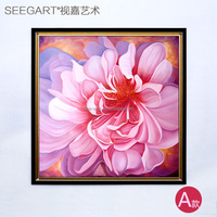 2015 New Design Modern Style Florals Oil Painting On Canvas for Sale