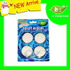 4 Pack White Bubble Auto Harpic Toilet Bowl Cleaner/Deodorant