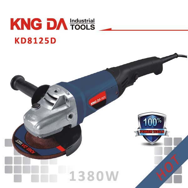 KD8125D 125mm 1380W maktec power tools electric angle grinder