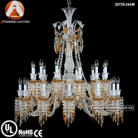 Newest 24 Light Baccarat Style Luxury
