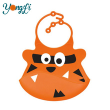 Wholesale Cheap Organic Best Baby Bibs with Food Pocke Silicone Baby Bib