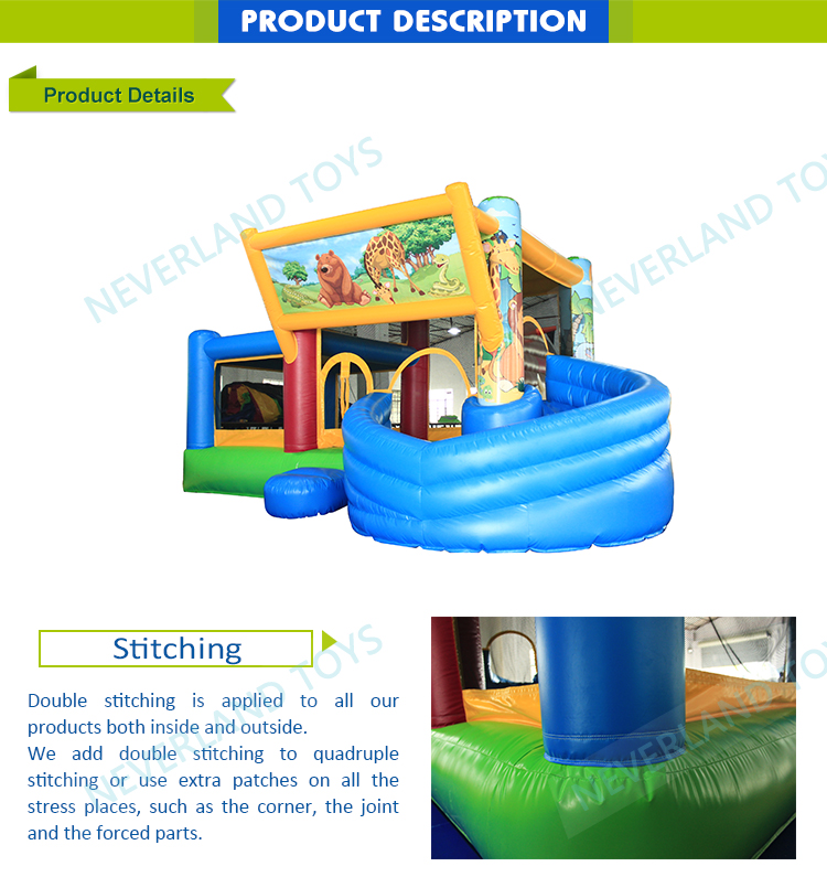 The City Giant Bouncy Castle With Toys Used Commercial Water Slides Boat Inflatable Slip N Slide For Adult