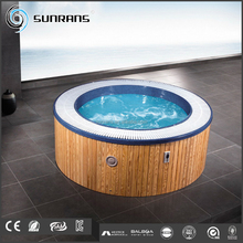 SR818 Beautiful massage 6 persons round outdoor spa