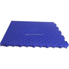 2018 popular indoor and outdoor portable plastic tartan basketball flooring prices