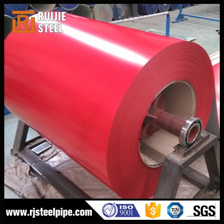 galvanized steel coil z20 40 60 80 , color coated steel coil/ ppgi roofing sheet , porcelain coated steel