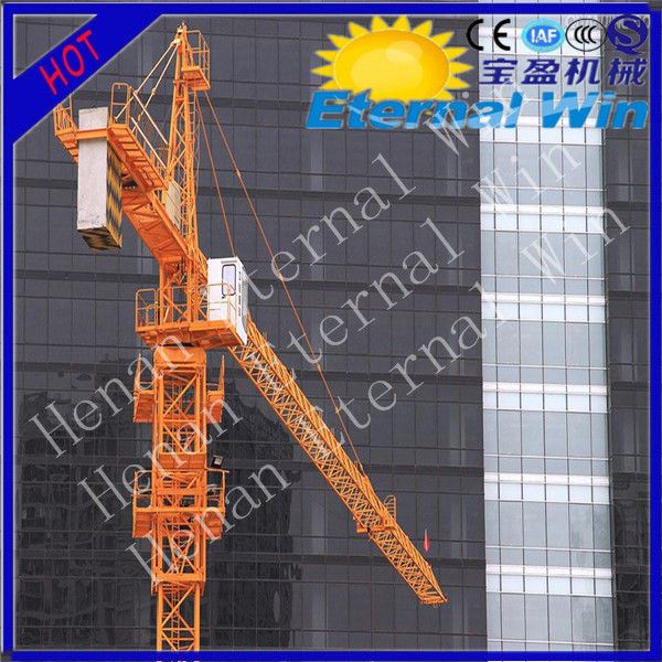 China prices tower crane specifications