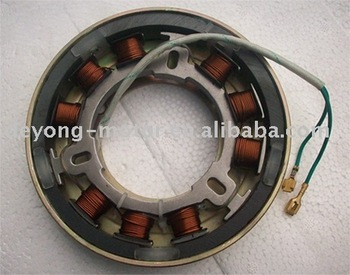 Fly wheel starter for diesel generator