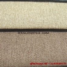 polyester material classic plain linen fabric for sofas and upholstery