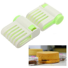 5 Layers Slicer Cutting Fixator Tools Portable DIY Cake Bread Cutter Leveler