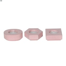 Eco-friendly and high quality cement candle holder designed with soy wax