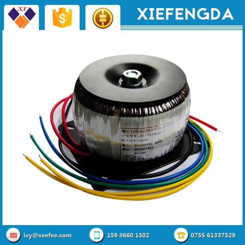Transformer Round Automatic Relay types of EI or Toroidal Transformer for 100v/110v/117v/120v/220v/230v/240v 50/60HZ