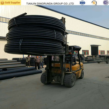 Flexible Hdpe Pipe 20mm - 75mm Black Plastic Water Pipe Roll