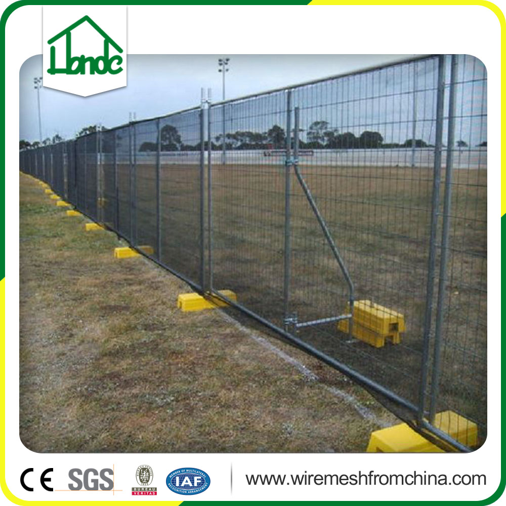 Hot dip galvanized outdoor activity temporary fence panel hot sale