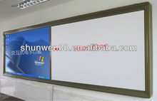white board sliding interactive whiteboard smart whiteboard portable promotion price