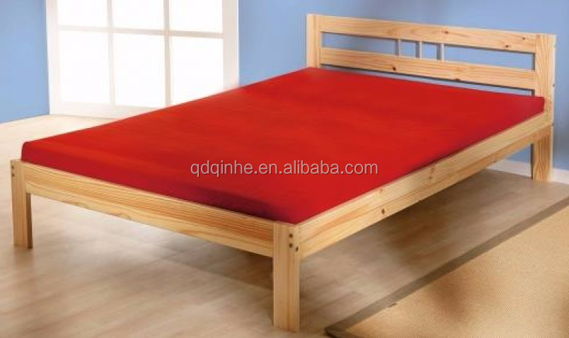 top sale solid wood bed high quality pine single cot bed
