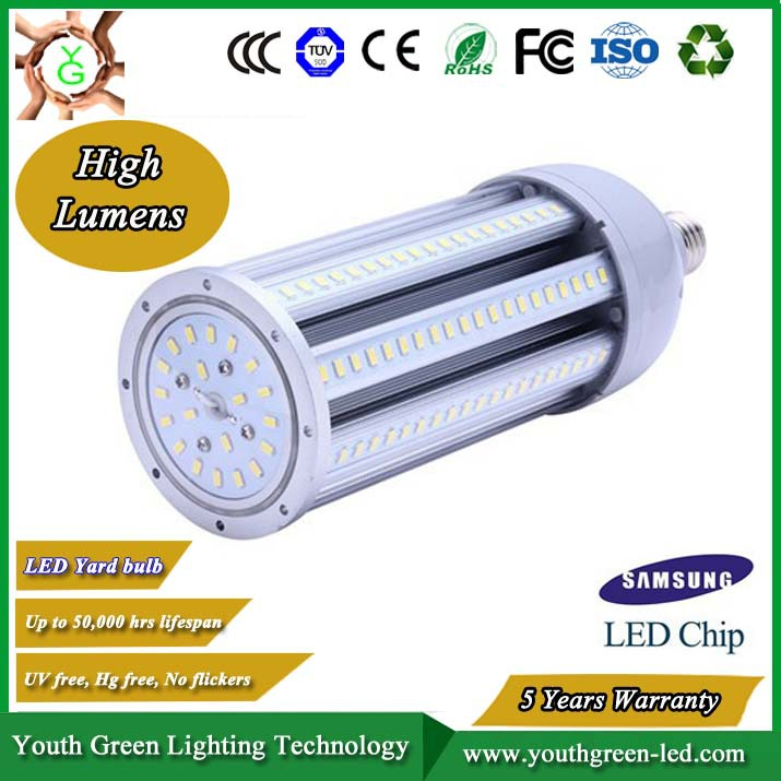 5 Years Warranty high power bright Prefessional factory corn led lamp e40 100 watt for replace metal halide HID CFL