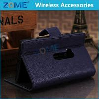 2015 New Alibaba Express PU Leather Filp Case Cover For Nokia A920