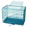 Folding metal wire commercial collapsible dog cage