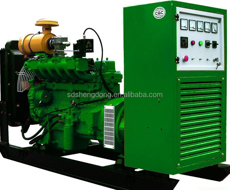 15kw silent gas generator NG/LPG/CNG biogas generator SD-15
