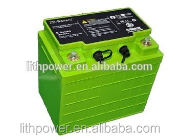 li-Ion type 12v 40ah lithium battery pack for electrical lawn mower