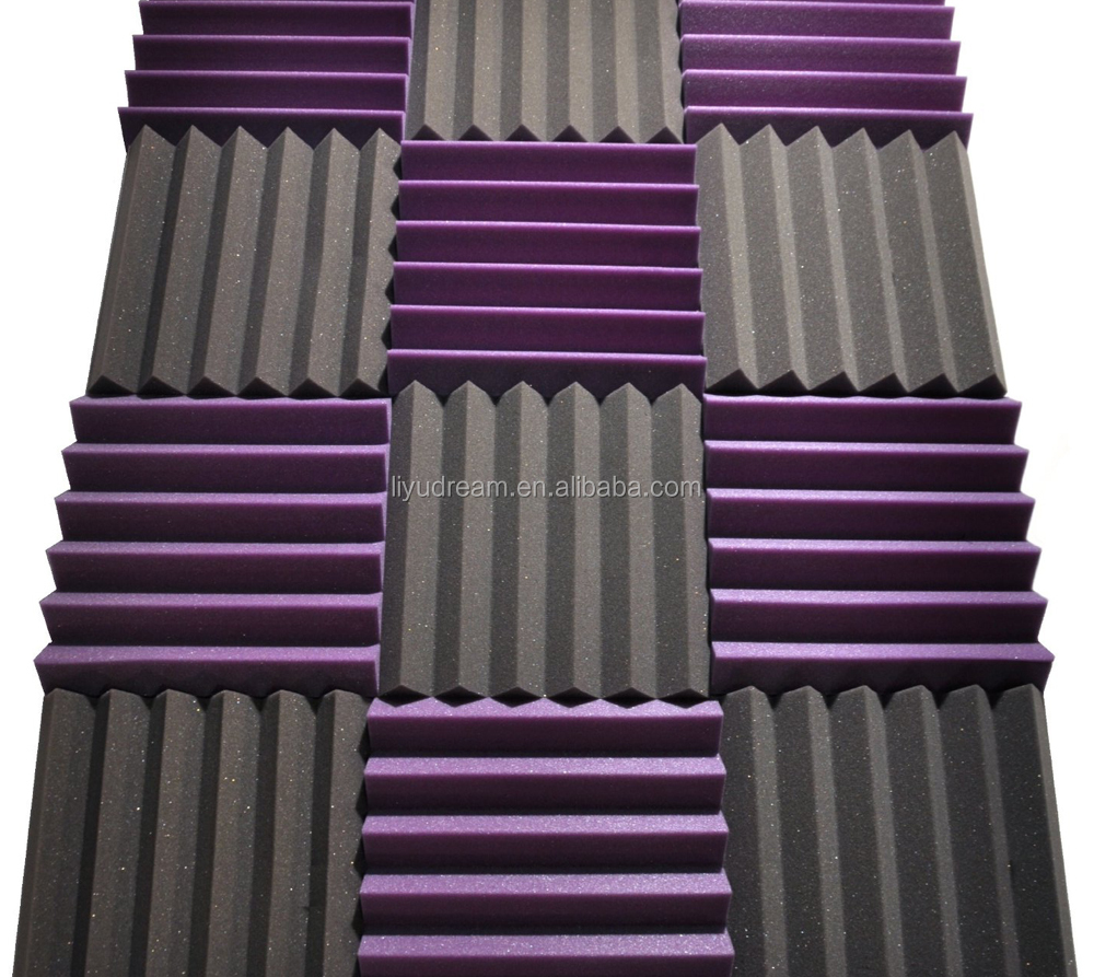 Fire resistant Sound proof Acoustic Wall Foam Panels