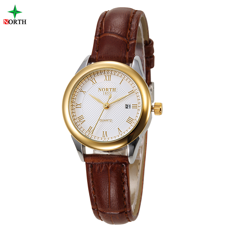 NORTH Brand Name Latest Fashion Quartz Ladies Wrist Watch with Great Dial