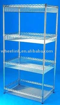 basket storage wire shelving buy wire shelves wire shelf. Black Bedroom Furniture Sets. Home Design Ideas