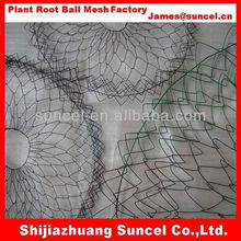 Root ball wire mesh basket