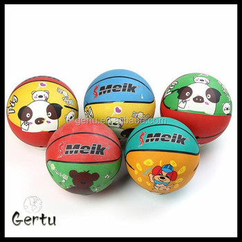 Size 1 Mini rubber basketball wholesale factory directly