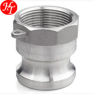 Free sample thread type A stainless steel camlock quick coupling