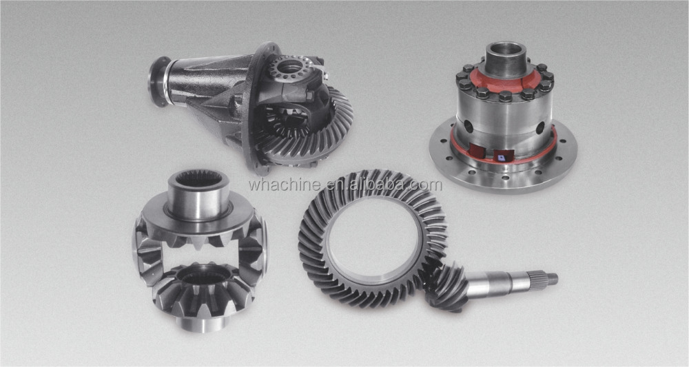 Professional truck differential gear made by whachinebrothers ltd.
