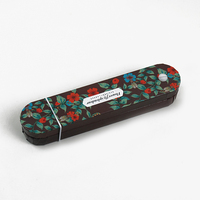 LANGUO 2014 double sided pencil case/pencil box Model:LGDW-2403