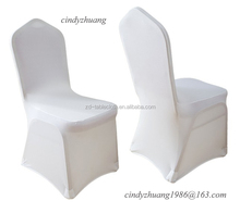White Universal Spandex Banquet Chair Cover