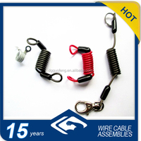Red SEA DOO Safety Lanyard With