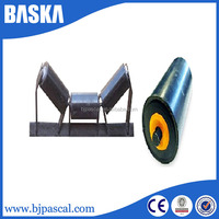 Standard or customized belt conveyor steel transition roller idler